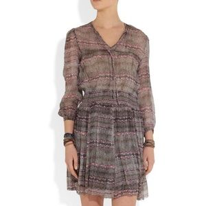 Isabel marant Danzig silk chiffon dress Sz 36